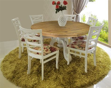 decoração de mesa sala jantar pruzak sala de jantar branca provencal id 233 ias