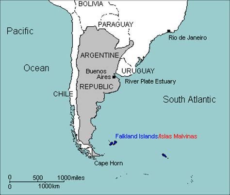 south america map cape horn argentina cape horn map