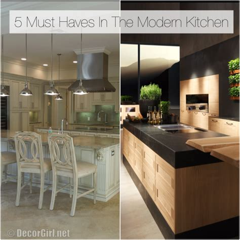 kitchen must haves 2016 top 5 must haves in the modern kitchen