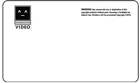 vhs label template xpk productions vhs label with 2014copyright by x