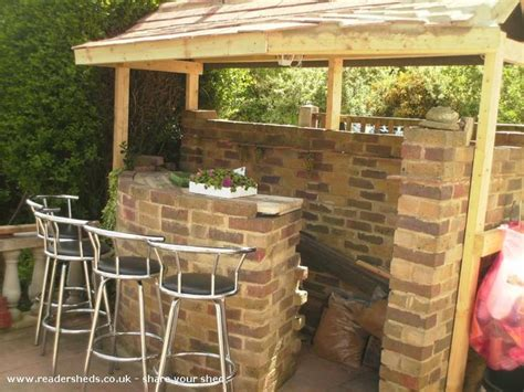 backyard saloon backyard shed bars outdoor furniture design and ideas