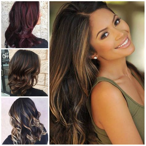 highlight hair color brown hair color with highlights for 2017 best hair