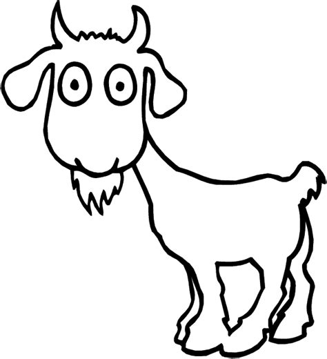 coloring pages of goat 19 animal goats printable coloring sheet