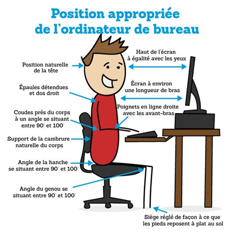 position bureau ergonomique 7 tips to your small business more comfortable