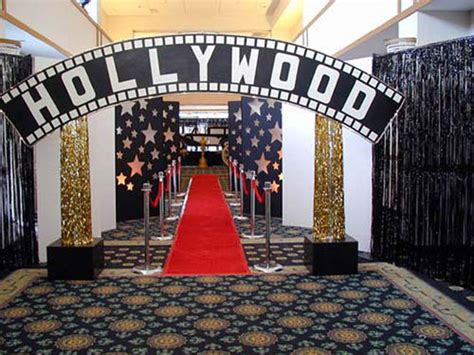 theme music in hollywood party ideas for a hollywood themed bar mitzvah bar bat