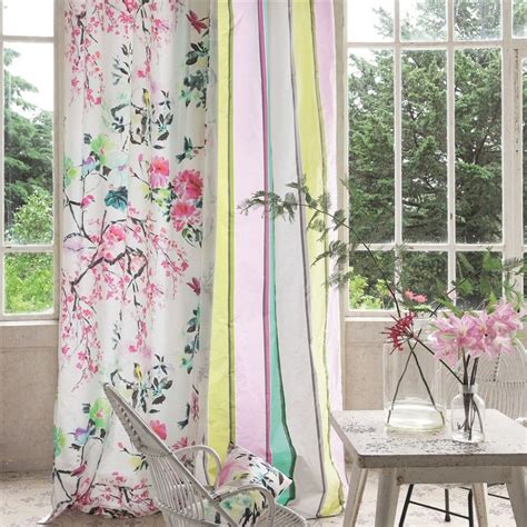 chinoiserie drapes chinoiserie flower peony by designers guild at eden fabrics