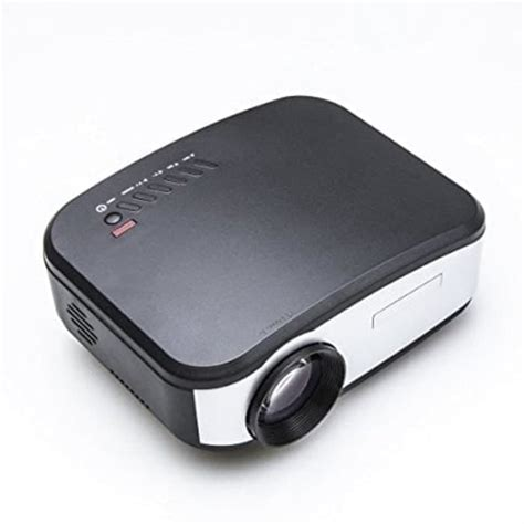 Led Lu Led Mini Usb Hitam jual mini projector cheerlux c6 premium led 1200 lumens