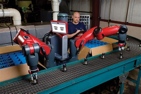 real and industrial robots how robots can start working with people business insider