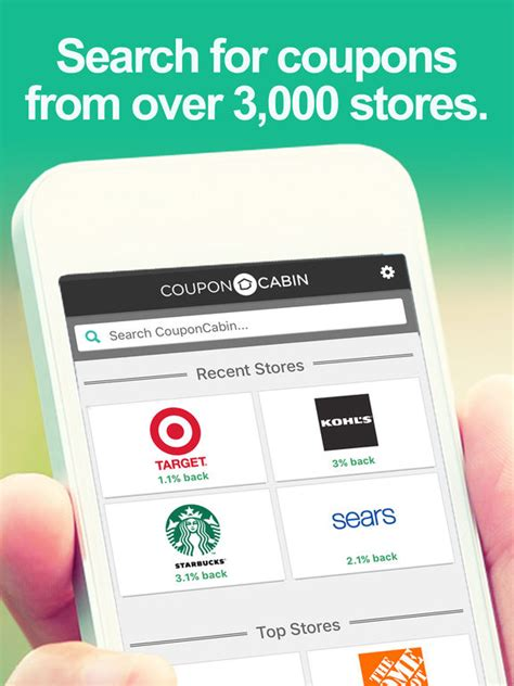 couponcabin on the app store