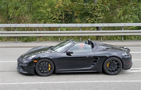 2019 Porsche Boxster Spyder by 2019 Porsche Boxster Spyder Prototype Shows Production
