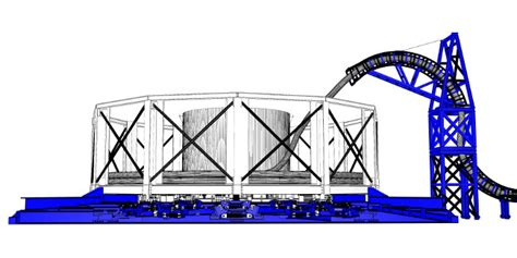 Modular Carousel 1250t modular carousel equipment