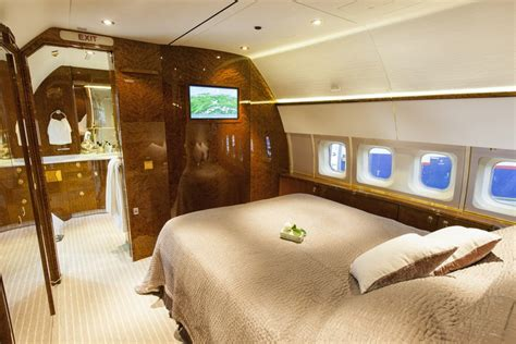 private jet bedroom privajet refurbished bbj loaded with vip amenities