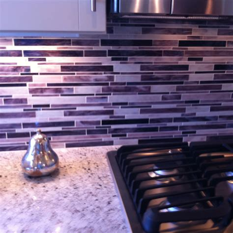 Purple Kitchen Backsplash | purple back splash for kitchen home is where my heart