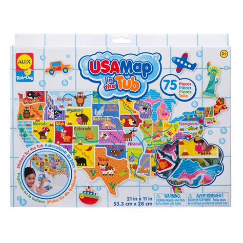 usa map floor puzzle foam usa map in the tub 75 pc foam puzzle educational toys planet