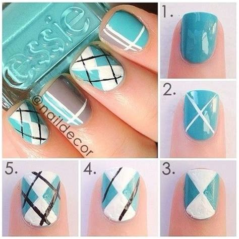 design by yourself step by step through wonderful nails
