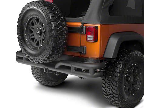 Rugged Ridge Rear Bumper Jk by Rugged Ridge Wrangler Rear Bumper Textured Black
