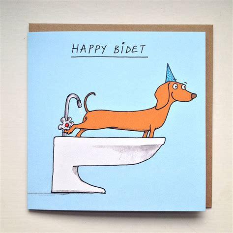 Happy Bidet happy bidet card by cardinky notonthehighstreet