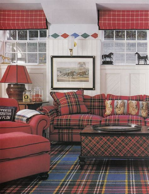 223 Best Leather Plaid Images On Pinterest Chairs Plaid Living Room Furniture