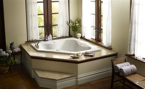 bathtub built for two jacuzzi primo 6060 corner whirlpool bathtub tubs and more