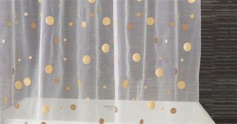 gold polka dot shower curtain gold dot shower curtain polka dots pinterest