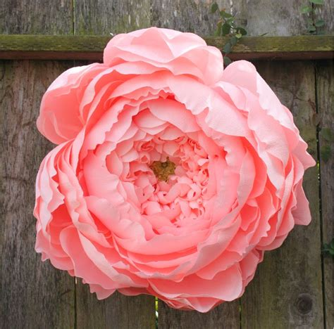How To Make Big Flowers Out Of Crepe Paper - made us look the paper flowers we ve seen