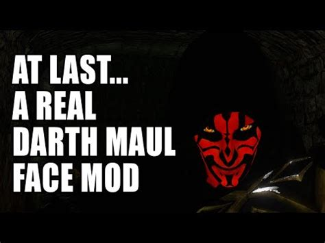 dark souls ii darth maul tattoo mod youtube