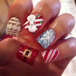 christmas nail art design inspirational winter teenage