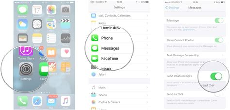 phone text template read receipt how to set up and activate imessage for iphone and
