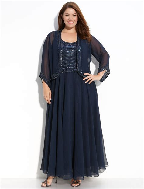 Plus size mother of the bride dresses with jackets male models