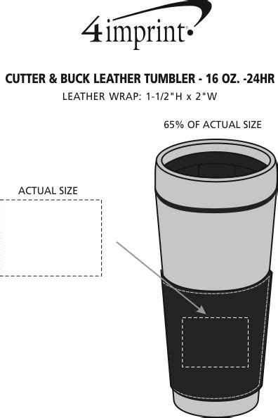 title 13 us code sections 141 193 and 221 4imprint com cutter buck leather tumbler 16 oz 24