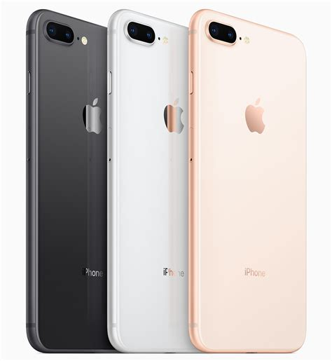 Iphone 8 Plus 64gb 64 Gb New Original apple reveals iphone 8 and iphone 8 plus with glass bodies and a11 bionic chip mac rumors
