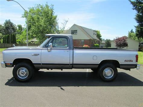 1990 dodge ram cummins for sale purchase used 1990 dodge ram 2500 5 9 liter 12 valve