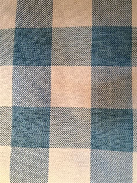 blue check upholstery fabric turquoise blue aqua cream buffalo check upholstery fabric