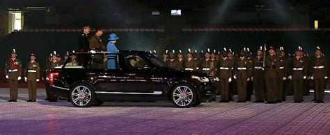 land rover queens her majesty the queen has a hybrid range rover lwb