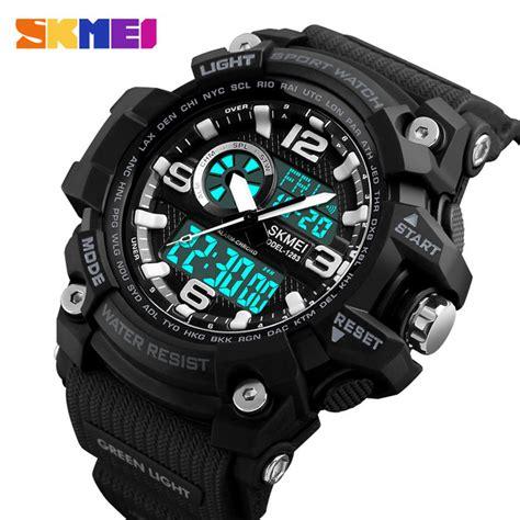 Skmei Jam Tangan Digital 2 skmei jam tangan digital analog pria 1283 black jakartanotebook