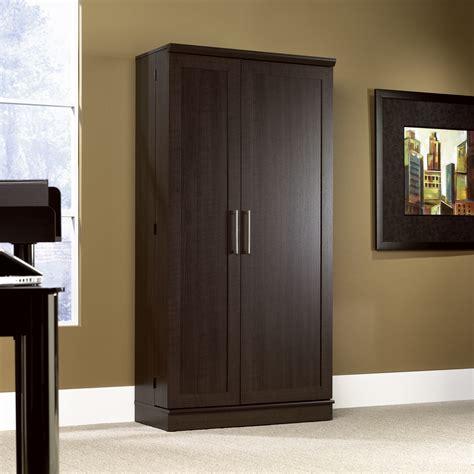 Sauder Storage Armoire by Homeplus Storage Cabinet 411572 Sauder
