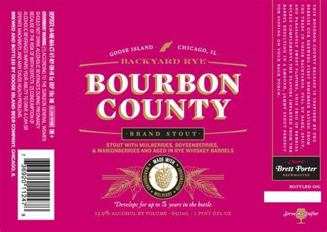 backyard rye beer goose island bourbon county brand archives beer street
