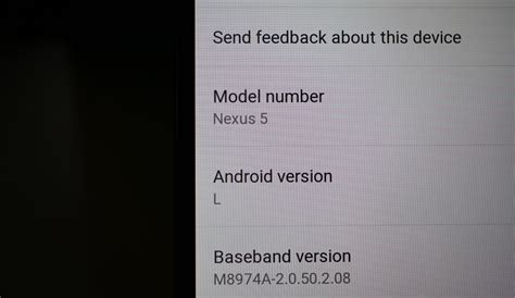 android l preview hits aosp for nexus 4 5 7 and 10 updated droid