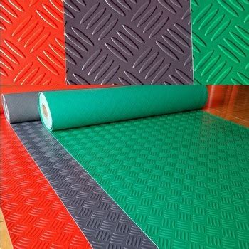 Plastic Floor Mat - pvc anti slip pvc floor carpet garage mat buy rubber