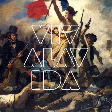 coldplay viva la vida album coldplay viva la vida alternate album cover 1 by