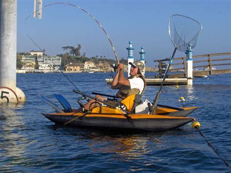 inflatable pontoon kick boat inflatable pontoon kick boats freshwater fishing