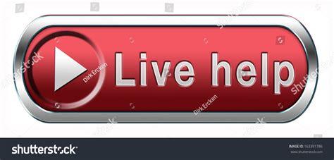 Live Help Desk by Live Help Help Support Desk Stock Illustration