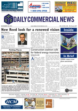 Daily Commercial News Reporting On The Canadian | daily commercial news dcn