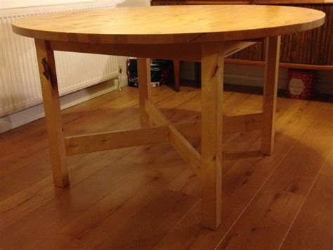 solid beech extending dining table from ikea cowes