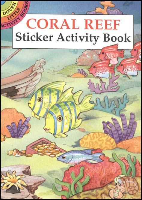 coral reefs maldives reef id books books coral reef small format sticker book chart 001145