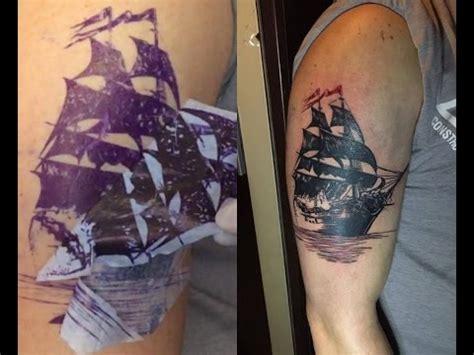 tattoo printer brother brother pocketjet pj 662 stencil youtube