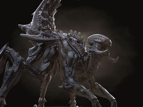 3d hd model gothic dragon 29 best images about zerg spider xenomorph