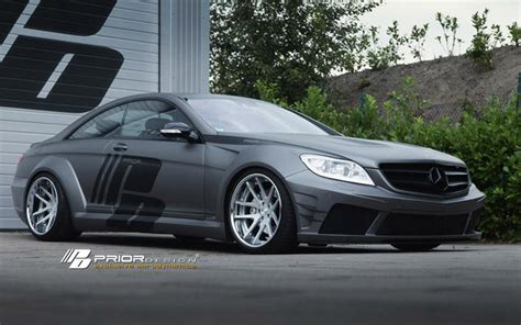 Kets 04 Black by Prior Design Mercedes Cl Widebody Kit