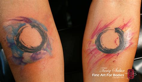 tattoo watercolor abstract and watercolor tattoos tariq sabur
