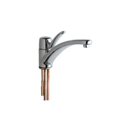 commercial grade kitchen faucets chicago faucets 2300 e34abcp chrome commercial grade kitchen faucet with lever handle eco
